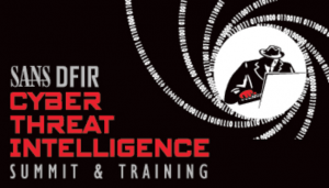 SANS Cyber Threat Intelligence Summit