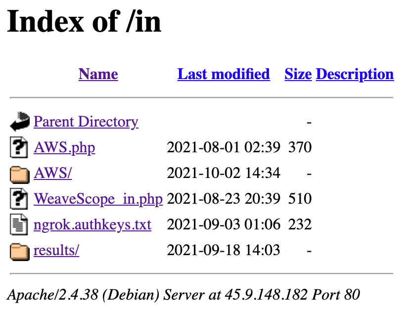 Directory of /in/